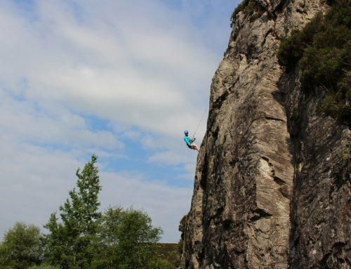Rock Climbing with Conall Ó Fiannachta