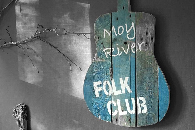 Bank Holiday weekend music session at the Moy River Folk Club